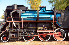 Old, historic steam train Stock Image