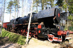 Old, historic steam train Royalty Free Stock Photography