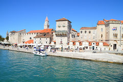 The Old Historic Town of Trigor. Trogir, Croatia - September 8, 2015: The Old Historic Town of Trigor Royalty Free Stock Image
