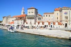 The Old Historic Town of Trigor. Trogir, Croatia - September 8, 2015: The Old Historic Town of Trigor Stock Images