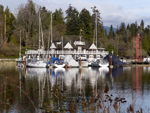 Old historic Vancouver  rowing club Stock Photo