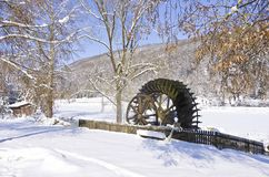 Old Historic Water Wheel Stock Image