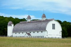 Old historical barn in Sleeping Bear Dunes Nationa Royalty Free Stock Photography