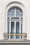 Old historical building with beautiful windows, Vienna Stock Image