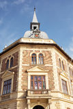 Old historical building of Vajda Janos Gymnasium, Keszthely, Hun. Gary. Architectural theme Stock Photo