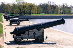 Old historical cannon Royalty Free Stock Photos