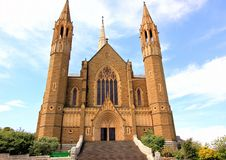 Old historical cathedral church Royalty Free Stock Photography