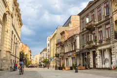Old historical center Lipscani Stock Image