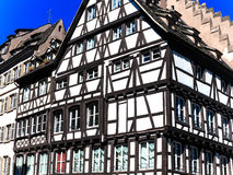 Old historical half-timbered house in Strasbourg, France Stock Photography