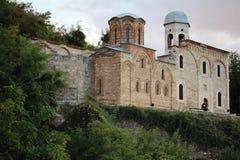Old historical holy savior church at prizren, kosovo Stock Image