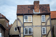 Old, historical houses in York, England, UK Royalty Free Stock Image