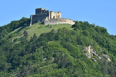 Old historical ruins of castle Zborov Slovakia. Old historical ruins of castle Zborov in Slovakia stock images