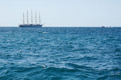 Old historical sail ship Royalty Free Stock Photography