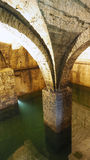 Old historical underground water well Royalty Free Stock Images