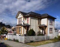 Old Homes Astoria, Oregon Royalty Free Stock Image