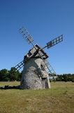 Old and historical windmill of Faro Royalty Free Stock Photos