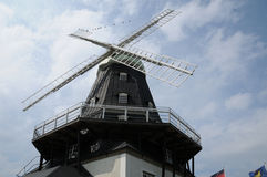 Old and historical windmill of Sandvik Stock Photography