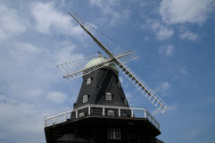 Old and historical windmill of Sandvik Stock Image