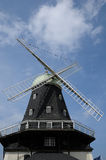 Old and historical windmill of Sandvik Royalty Free Stock Photos