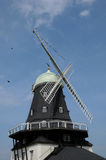 Old and historical windmill of Sandvik Royalty Free Stock Photo