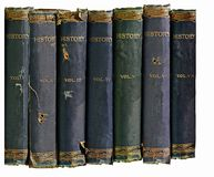 Old History Books  Royalty Free Stock Photo