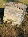 Old hive. Hive stock photos