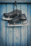 Old hockey skates Stock Images