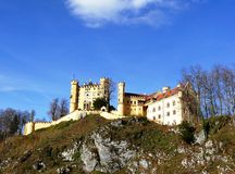 Old Hohenschwangau Castle In Bavaria Germany Stock Images