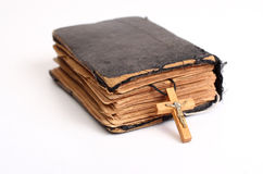 Old holy bible Stock Images