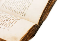Old Holy bible book Stock Photography