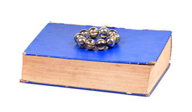 Old holy book Royalty Free Stock Photos