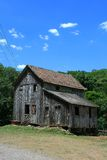 Old home. An old wood house used as a watermill Royalty Free Stock Images