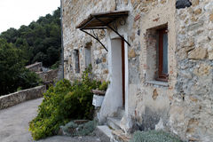 Old home. Building in le Teil, France Royalty Free Stock Photos