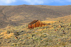 Old home in California desert royalty free stock photo