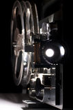 Old home cinema projector. For 8 mm films stock photos