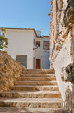 Old home in de Guadalest, Alicante, Spain. Royalty Free Stock Photography