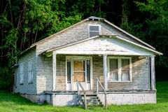 Old home that has been abandon in Alabama Royalty Free Stock Photography
