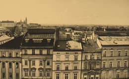 Old home in Krakow, Poland. royalty free stock image