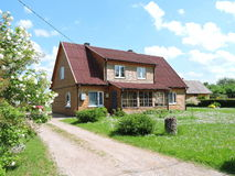 Old home, Lithuania Royalty Free Stock Photo
