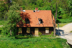 Old home in Sandomierz Royalty Free Stock Image