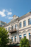 Old home in Saratov city Stock Photos