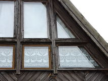 Old home window, Lithuania Royalty Free Stock Image