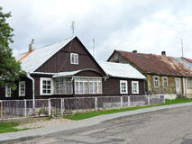 Old homes, Lithuania Royalty Free Stock Photography