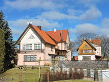 Old homes, Lithuania Royalty Free Stock Photos