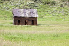Old Homestead. In field, near Milner, Colorado Royalty Free Stock Photos
