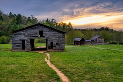 Old homestead, Cades Cove, Great Smoky Mountains Royalty Free Stock Photos