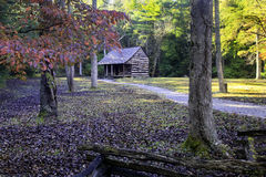 An old homestead in Cades Cove. In the Smoky Mountains Royalty Free Stock Images