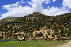 Old Homestead at Nine Mile Canyon Royalty Free Stock Images