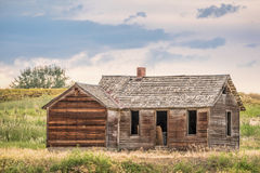 Old Homestead On Prairie Royalty Free Stock Photo