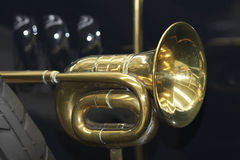 Old horn Stock Photo